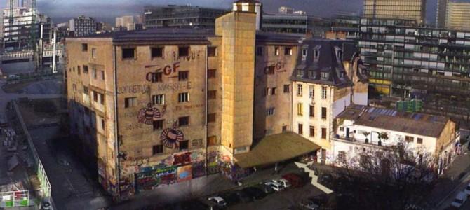 91 quai Panhard & Levassor, Paris 13° distrito : frigorífico de arte