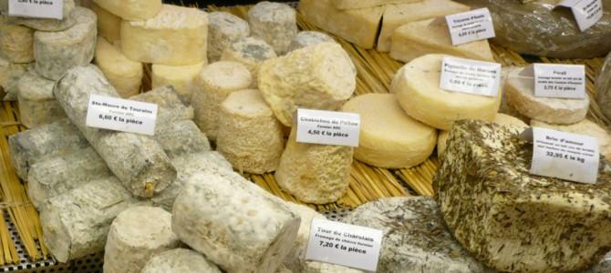 Os francêses e seus mais de 500 queijos
